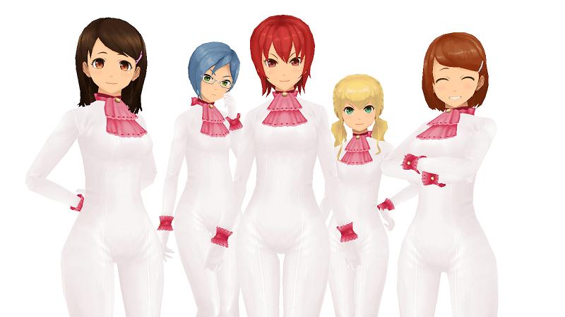 白ネコスーツ